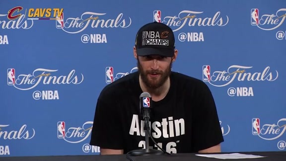 Game 7 Postgame: Kevin Love - June 19, 2016