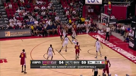 McRae Hits the Jumper, Plus the Foul - July 16, 2016