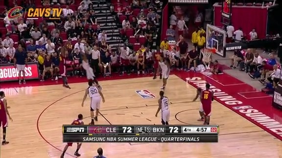 Cavs Regain Lead with 10-0 Run - July 16, 2016