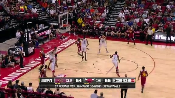 DeAndre Liggins Spins and Scores - July 17, 2016