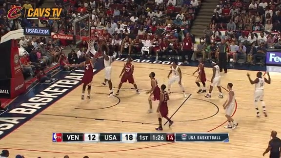 USA Goes on 12-0 Run - July 29, 2016
