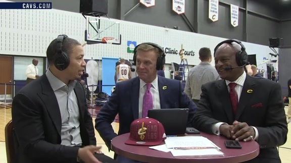 2016 Media Day with Coach Lue