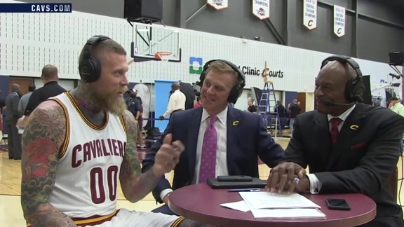 2016 Media Day with Chris Andersen
