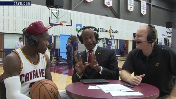 2016 Media Day with Kay Felder
