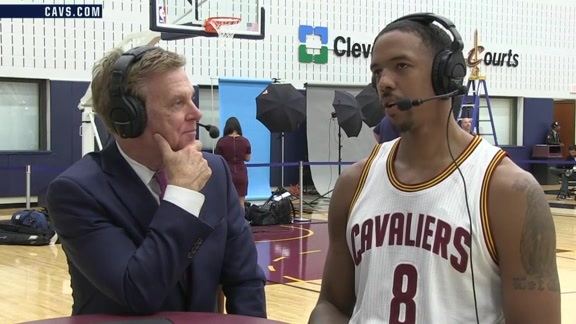 2016 Media Day with Channing Frye