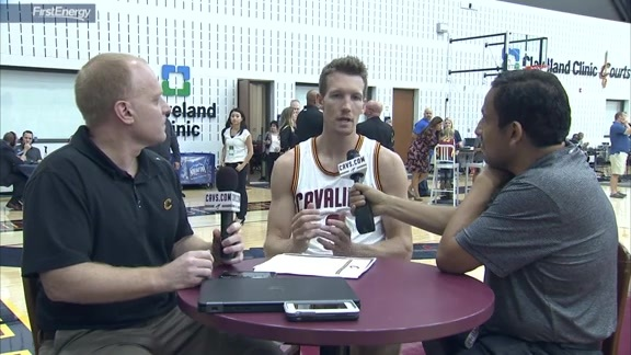2016 Media Day with Mike Dunleavy