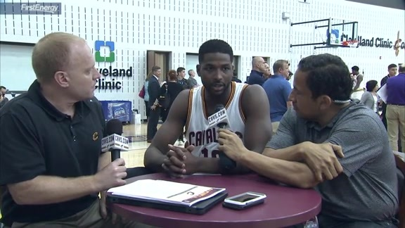 2016 Media Day with Tristan Thompson