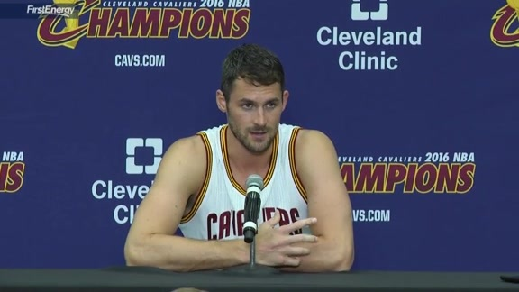 2016 Media Day with Kevin Love