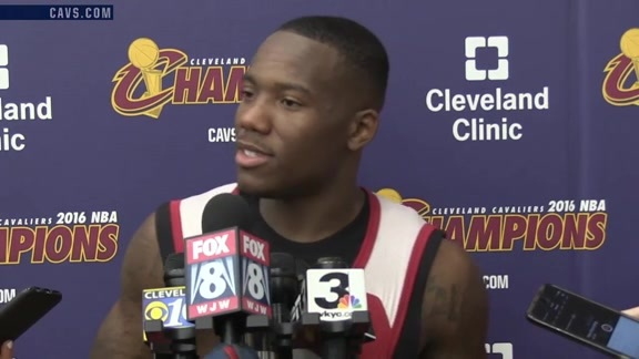 2016 Training Camp Day 1: Kay Felder