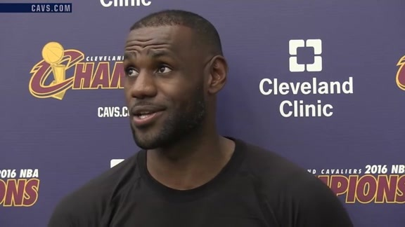 2016 Training Camp Day 1: LeBron James