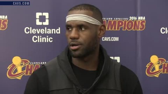 2016 Training Camp Day 2: LeBron James