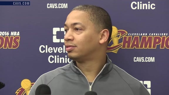 2016 Training Camp Day 3: Coach Lue