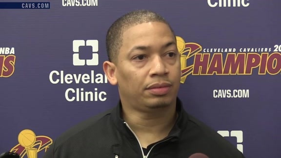 2016 Training Camp Day 4: Coach Lue