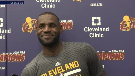 2016 Training Camp Day 4: LeBron James