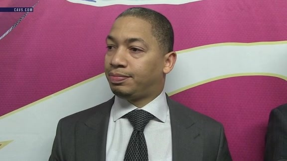 Tyronn Lue on J.R. Smith's Return to the Cavaliers