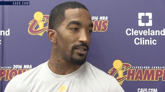 Practice: J.R. Smith – October 16, 2016