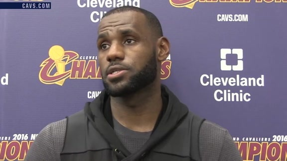 Practice: LeBron James - October 16, 2016