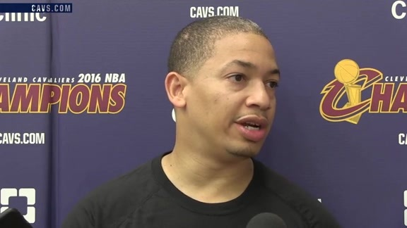 Practice: Coach Lue - October 16, 2016