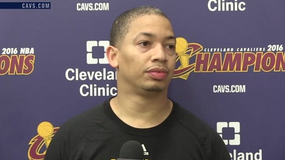 Practice: Coach Lue – October 17, 2016