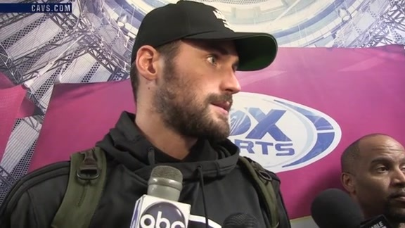 #CavsWizards Postgame: Kevin Love - October 18, 2016