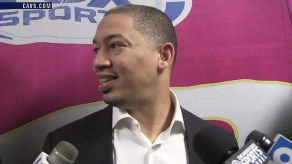 #CavsWizards Postgame: Coach Lue - October 18, 2016