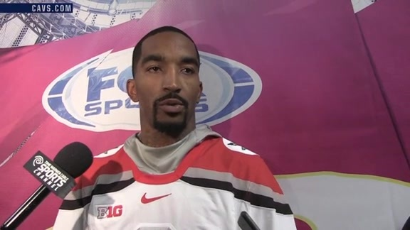 #CavsWizards Postgame: J.R. Smith - October 18, 2016