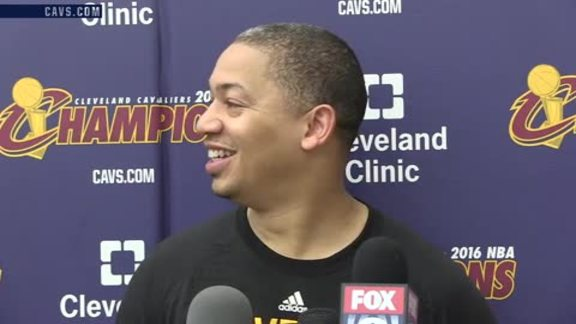 Practice: Coach Lue – October 20, 2016