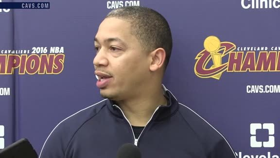 Practice: Coach Lue - October 21, 2016