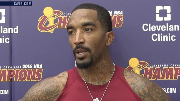 Practice: J.R. Smith - October 21, 2016