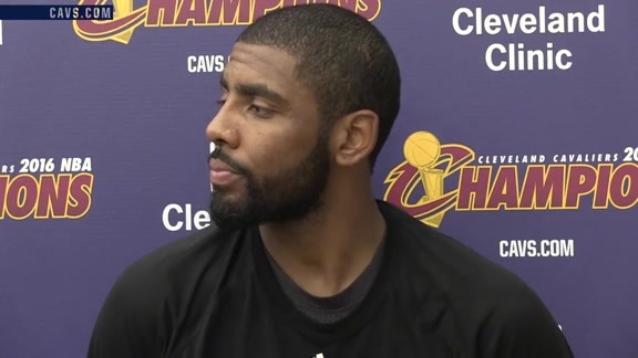 Practice: Kyrie Irving – October 22, 2016
