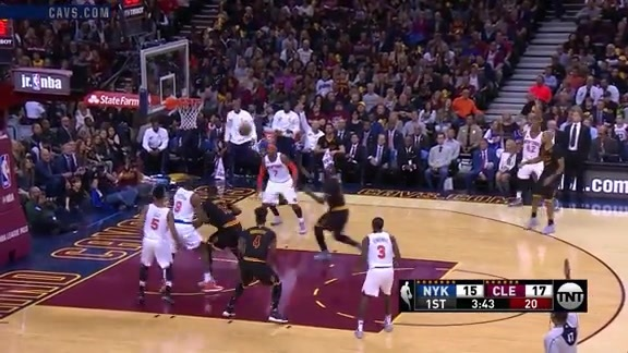 LBJ Cleans it Up for the Slam - October 25, 2016