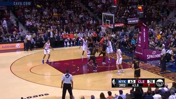 Kyrie Dances of the Defense - October 25, 2016