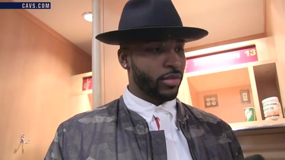 #CavsKnicks Postgame: Tristan Thompson – October 25, 2016