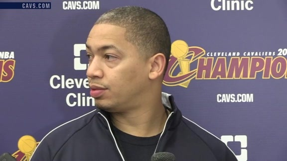 Practice: Coach Lue – October 27, 2016