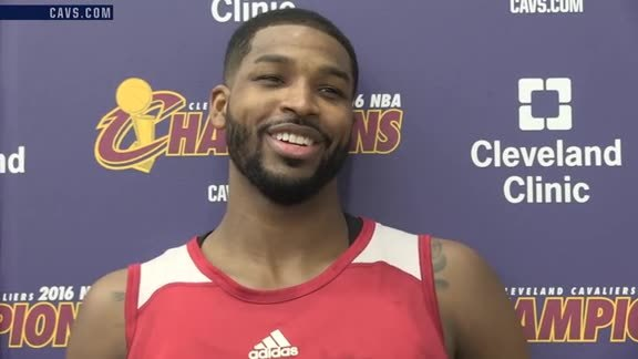 Practice: Tristan Thompson – October 27, 2016