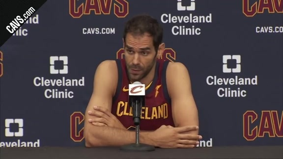 Jose Calderon 2017 Media Day Availability