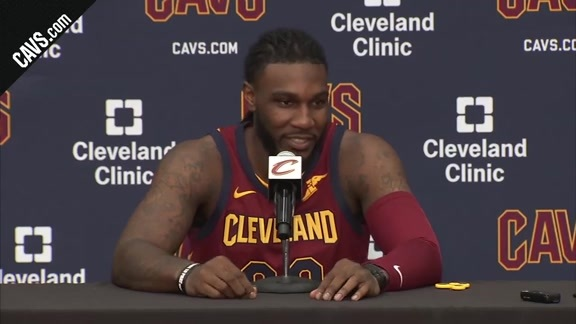 Jae Crowder 2017 Media Day Availability