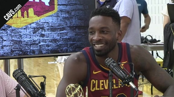 Jeff Green Stops by CavsHQ