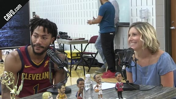 Derrick Rose Interview with CavsHQ