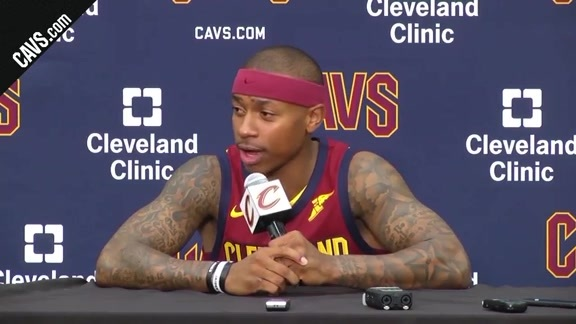 Isaiah Thomas 2017 Media Day Availability
