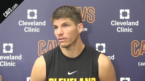 Training Camp Day 1: Kyle Korver