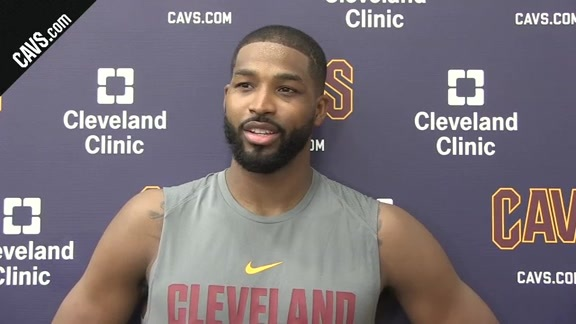 Training Camp Day 1: Tristan Thompson