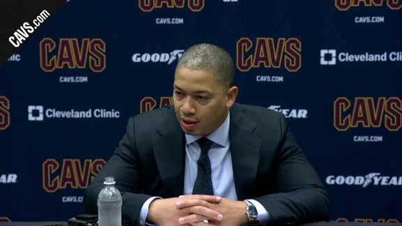 #CavsBulls Postgame: Coach Lue – October 10, 2017