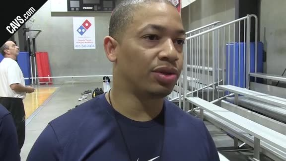 #CavsMagic Shootaround: Coach Lue - October 13, 2017
