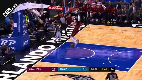 Featured Highlight: Wade Breakaway Slam