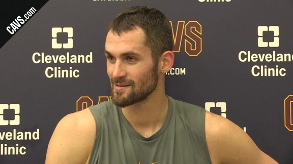 Practice: Kevin Love – October 15, 2017