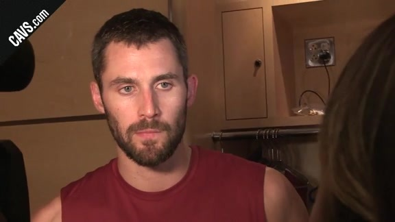 #CavsCeltics Postgame: Kevin Love – October 17, 2017