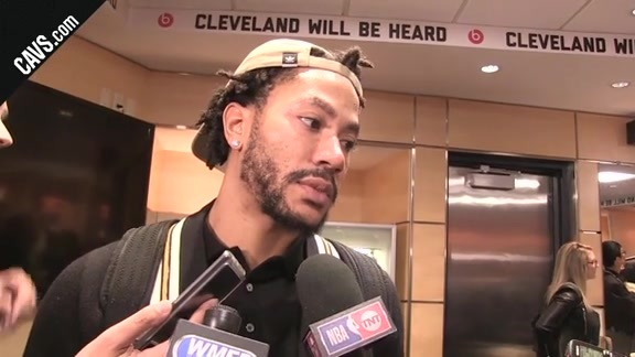 #CavsCeltics Postgame: Derrick Rose – October 17, 2017