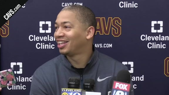 Practice: Coach Lue – October 19, 2017