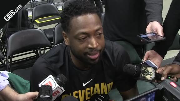 #CavsBucks Shootaround: Dwyane Wade - October 20, 2017